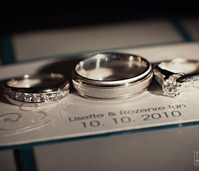 LISETTE+IAN: MARRIED!