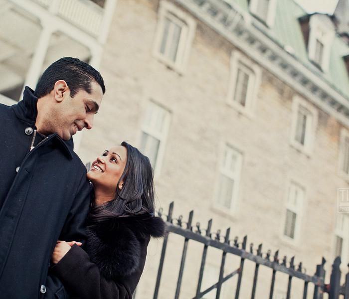 Kiran+Paul: Engaged!