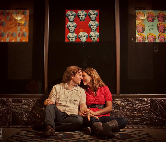 Marylene + Vincent: Engaged!