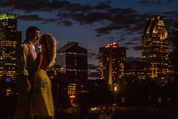Nadine & Chris: Engaged! |Montreal Engagement Session