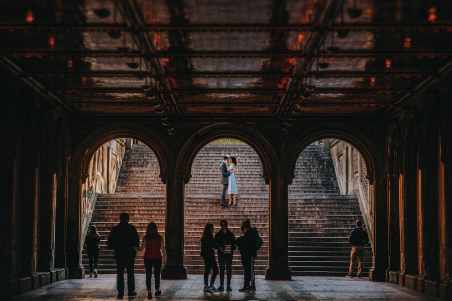 Rachel + JJ | NYC Engagement Photography