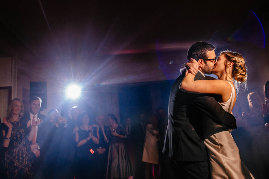 The First Dance and Walking on Clouds | Montreal Wedding Photographer